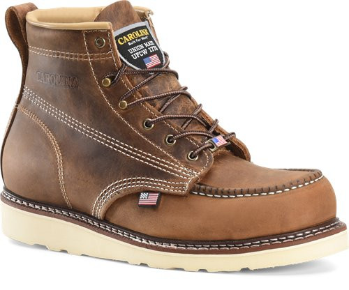 AMP USA Lo 6 Inch Old Town Folklore Moc Steel Toe Boot CA7811