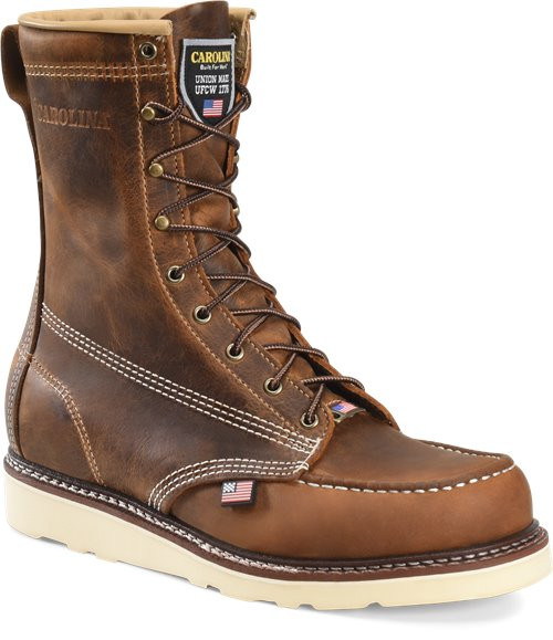 USA 8 Inch Moc Toe Boot CA8012