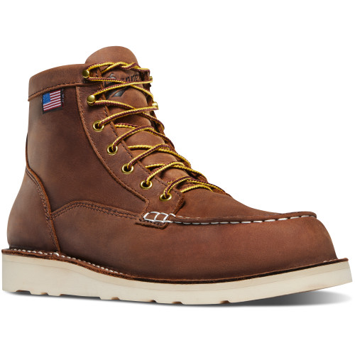 Danner Men's Tobacco Bull Run Moc Toe Boot- 15573