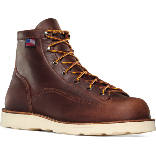 Danner Men's 6 Inch Bull Run Brown Christy Boot- 15552