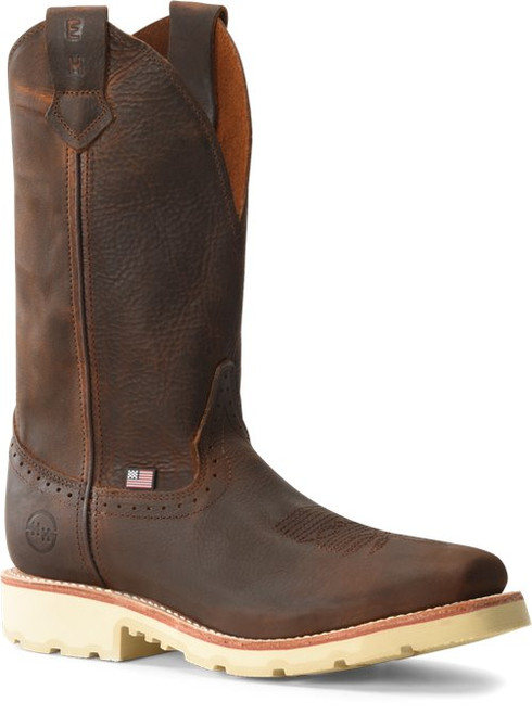 Double H Boot Wooten 12 Inch Wide Square Safety Toe Roper DH4649