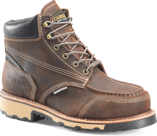 Ferric Lo 6 Inch Waterproof Steel Moc Toe Boot CA7818