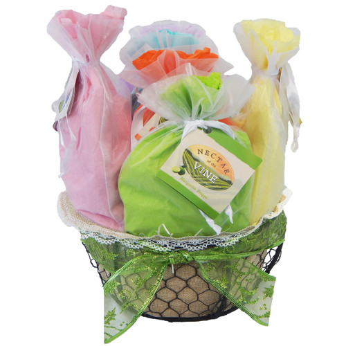 Frappé Wire Gift Basket (6 pack)