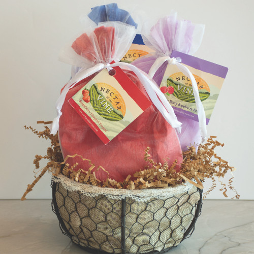 Frappé Gift Basket - Wire (3 pack)