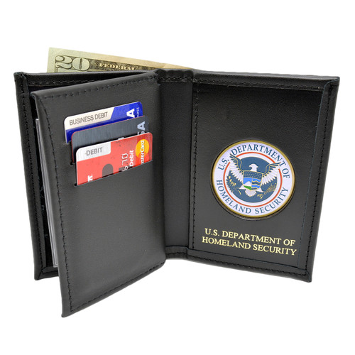 DHS Homeland Security Medallion Credential Double ID Wallet