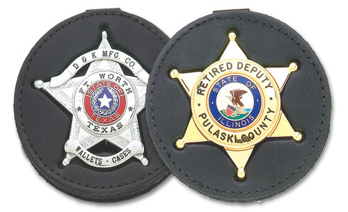DK-612 Recessed Cutout Clip-On Badge Holder