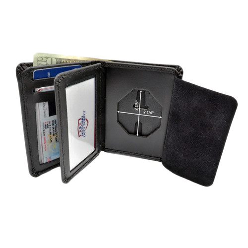 New York State Police Troopers Badge Wallet