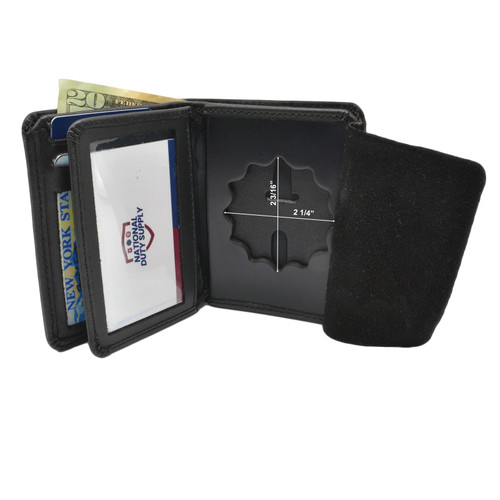 NYPD Lieutenant Badge Wallet