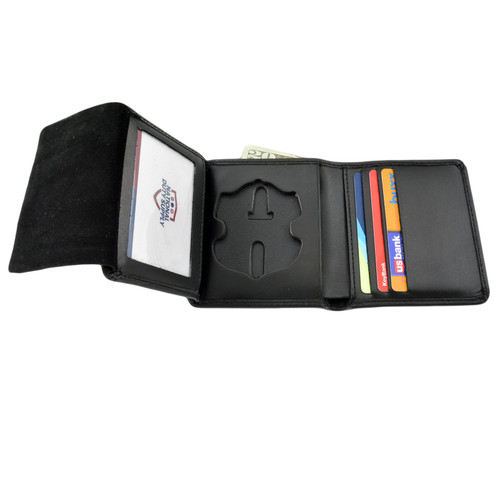 Cobra Tufskin Cincinnati Police Officer Badge Wallet