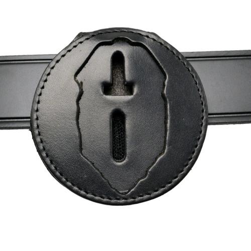 Florida Corrections Belt Clip Badge Holder w Neck Chain - Connecticut Corrections -B538 -