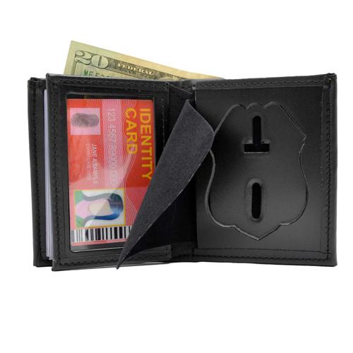 Houston Police Sergeant Bifold Hidden Badge Wallet