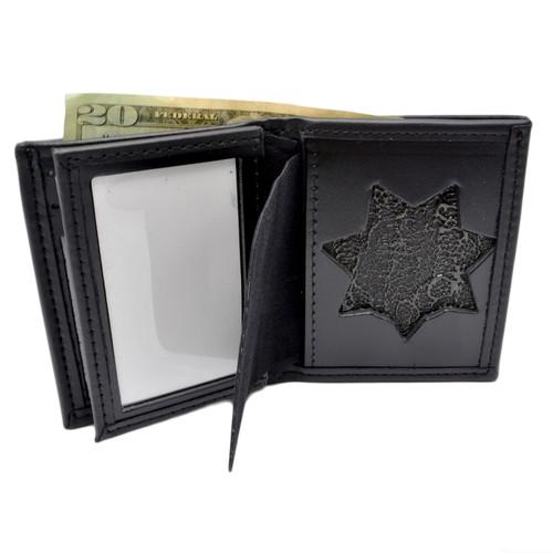 California Highway Patrol (CHP) 7 PoinT Star Flat Badge Wallet