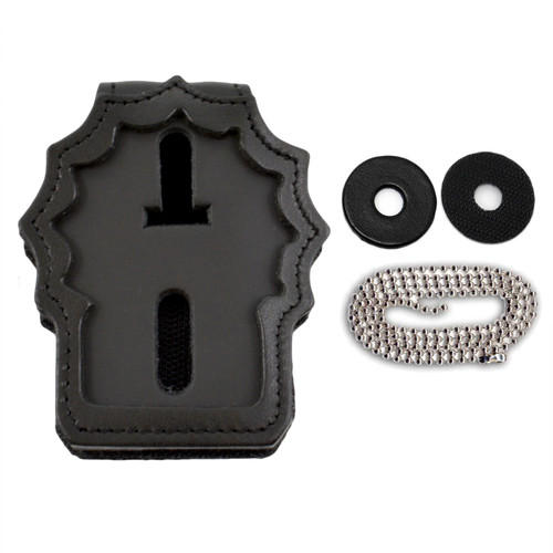NYPD Detective Recessed Clip On / Around Neck Badge Holder