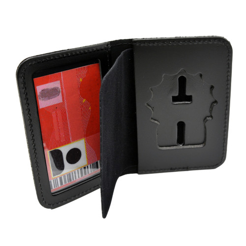 NYPD Police Detective Badge Holder Leather ID Case