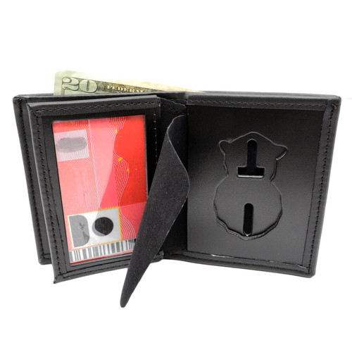 Air Force Military Police MP Bifold Hidden Badge Wallet