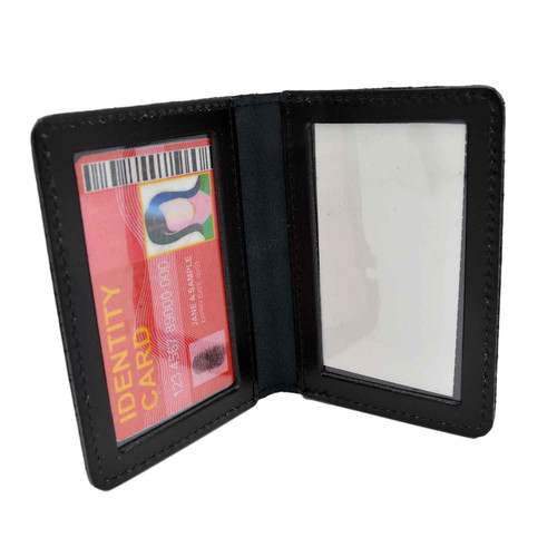 Duty Leather Book Style Double ID Case