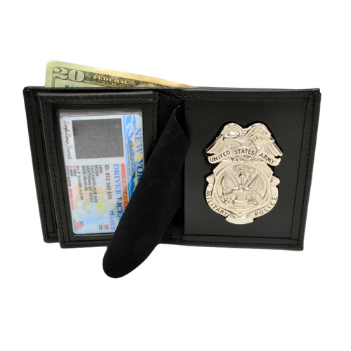 U. S. Army Military Police Badge & Wallet Combo