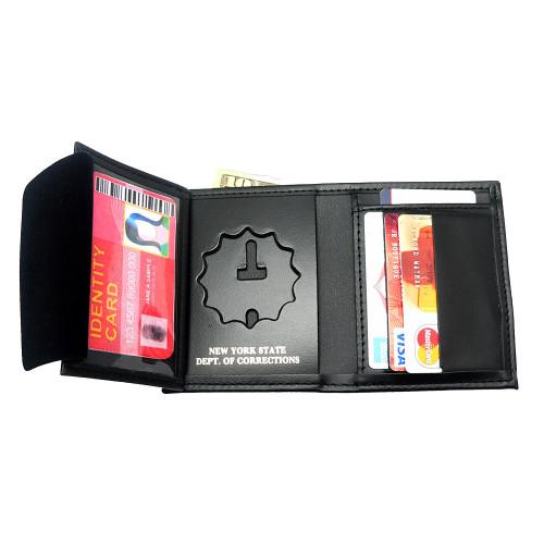 New York State Corrections NYSDOC Hidden Badge Wallet - 5 CC Slots