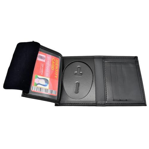 LAPD Oval Hidden Badge Wallet - 5 CC Slots - Phoenix Police