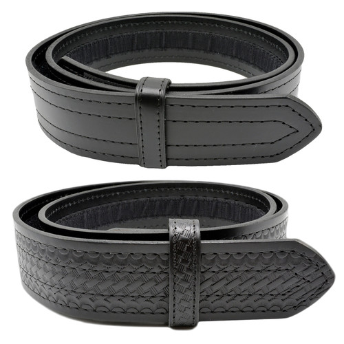 Perfect Fit Buckleless Leather Duty Belt