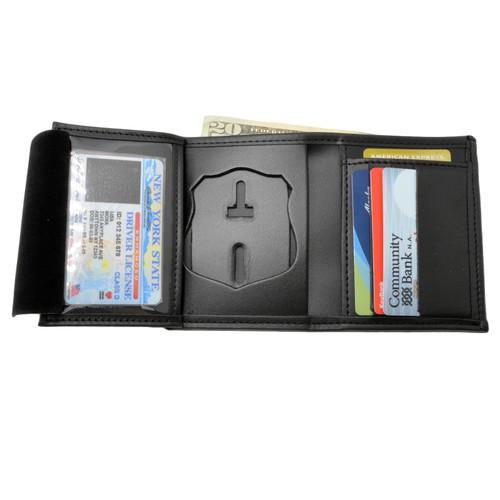 Washington Metro Police Officer Hidden Badge Wallet - 5 CC Slots