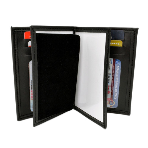 Double ID Credential Case - 3 x 5 Size - Credit Card Slots