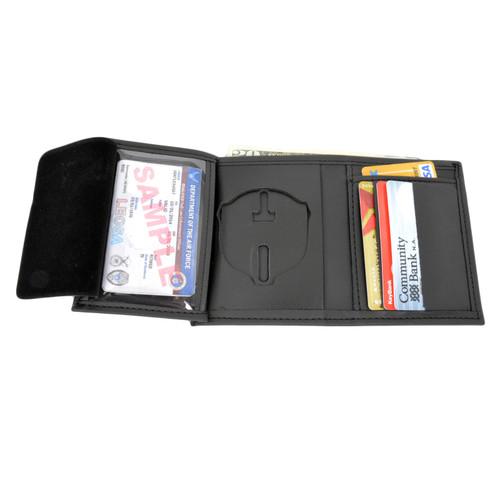 Memphis Police Sergeant Hidden Badge Wallet - 5 CC Slots