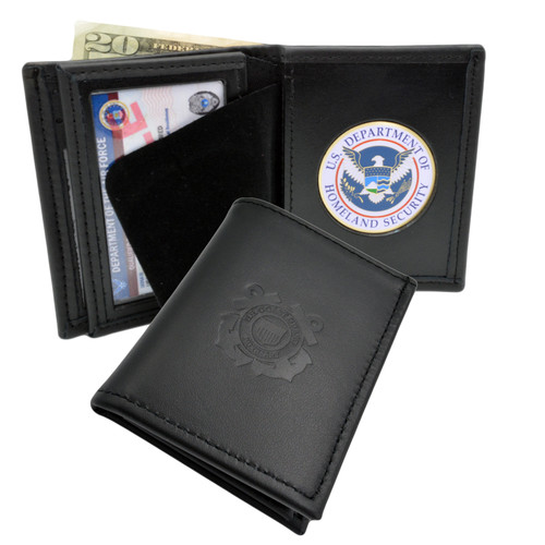U S Coast Guard Auxiliary Bifold Wallet