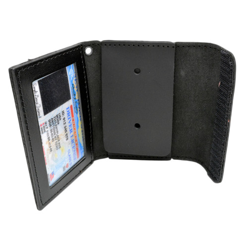 Universal Badge and ID Case - Snap or Velcro Closure