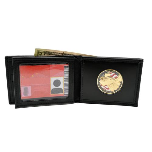 Challenge Coin Holder Credit Card Wallet