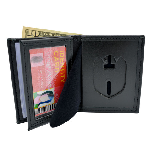NCIS Special Agent Cutout Bifold Badge Wallet