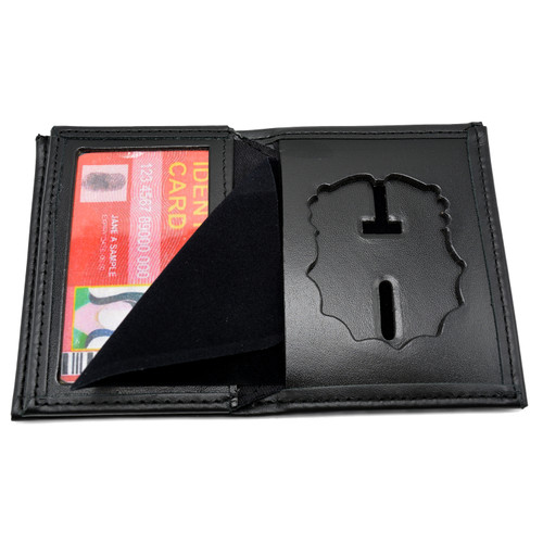 NYPD Inspector Captain Bifold Badge Wallet