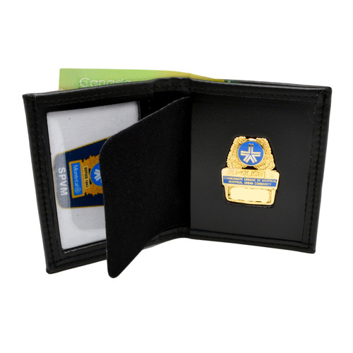 Montreal Police Bifold Badge Wallet