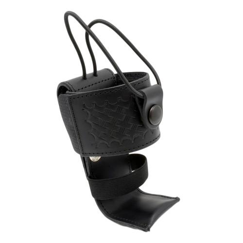 Adjustable Radio Holder with Shelf and Elastic Strap