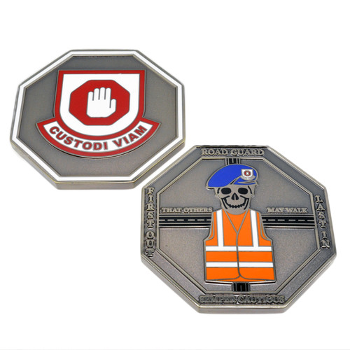 Road Guard Challenge coin