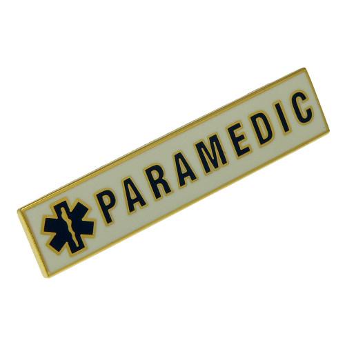 Paramedic Uniform Citation Bar Lapel Pin