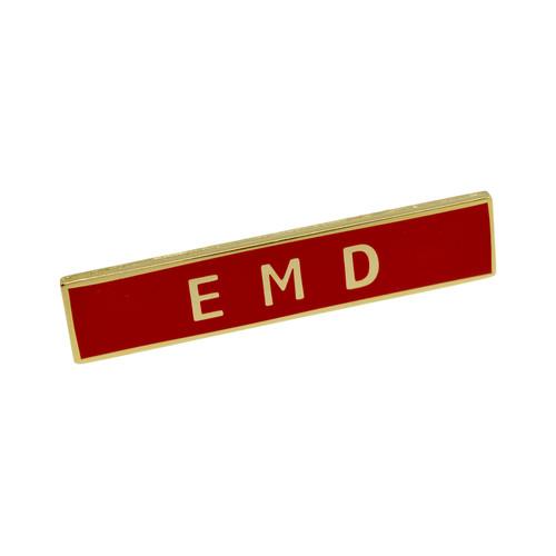 EMD Emergency Medical Dispatcher Uniform Citation Bar Lapel Pin