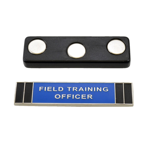 Magnetic Field Training Officer FTO Citation Bar Silver