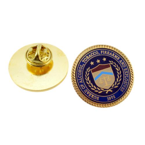 ATF & E Seal Lapel Pin