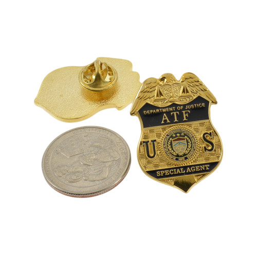 ATF Special Agent Mini Badge Lapel PIn