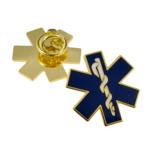Star of Life EMT Lapel Pin