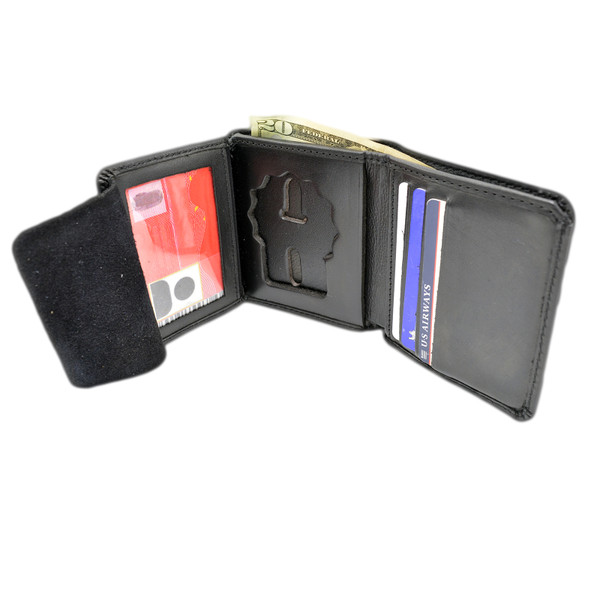 Cobra Tufskin NYPD Detective Premium Leather HIdden Badge Wallet