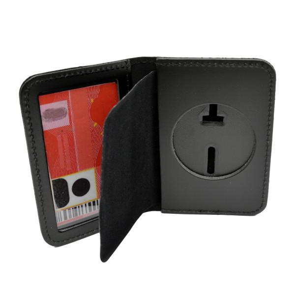 Round Cutout Badge Case ID Holder