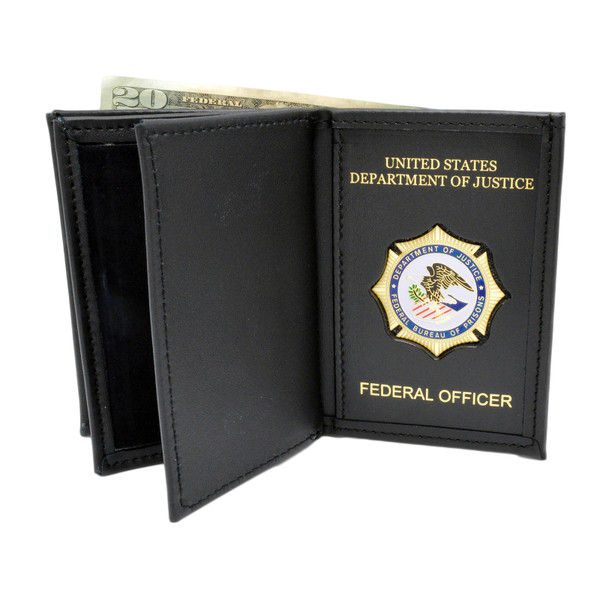 Bureau of Prisons Double ID Wallet - Federal Officer