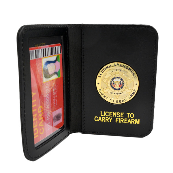 2ND AMENDMENT CONCEALED CARRY RIGHT TO BEAR ARMS LICENSE ID HOLDER