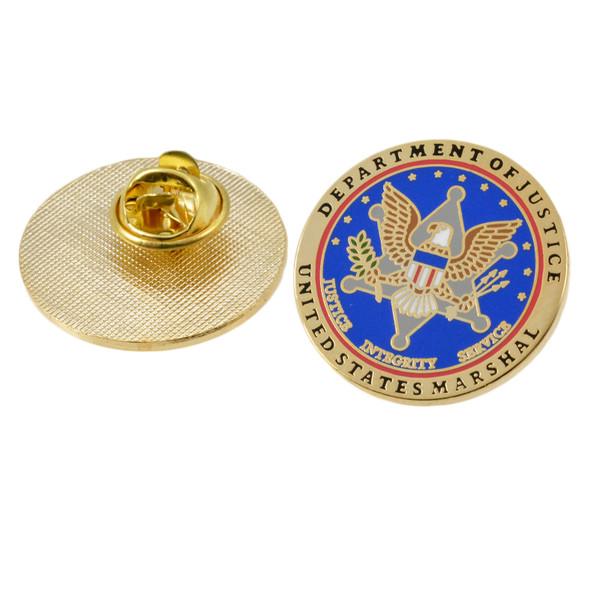 U S Marshal Service Logo Lapel Pin