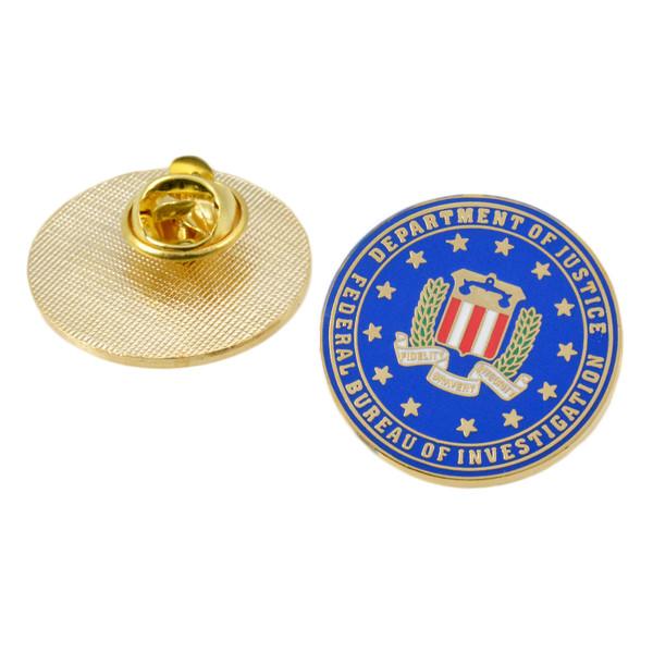 FBI Logo Pin
