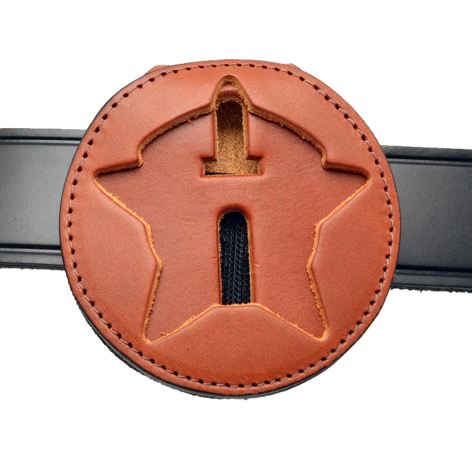 chicago-police-belt-clip-badge-holder-tan-leather.jpg