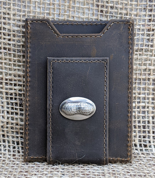 Brown Money Clip Wallet