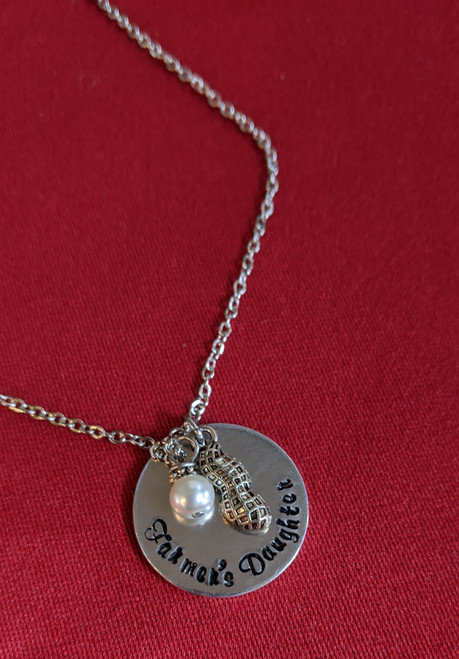 """Farmer's Daughter Necklace (18"""" chain)"""